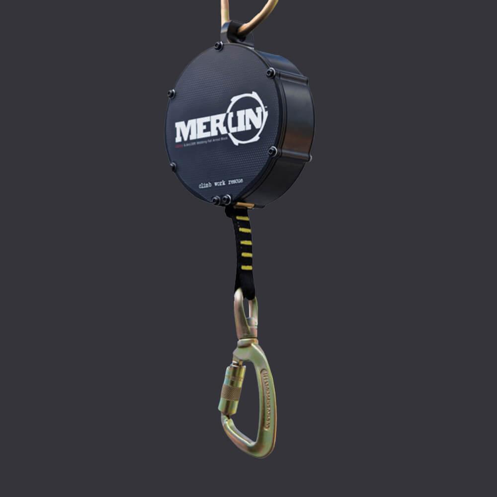 Samobrzdící zařízení Merlin Accen- bezpečná práce ve výškách