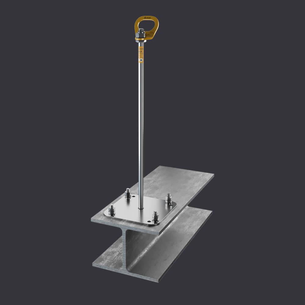 Accen Trax BX ST- Kotevní bod-připevnění k ocelovým konstrukcím
