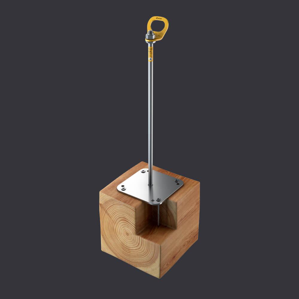 Accen Trax BX D- Kotevní bod-připevnění k dřevěné konstrukci