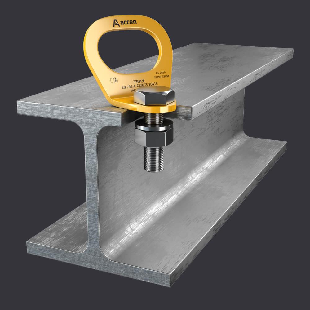 Accen- Kotevní bod Trax Light ST- jistící systémy k ocelovým konstrukcím