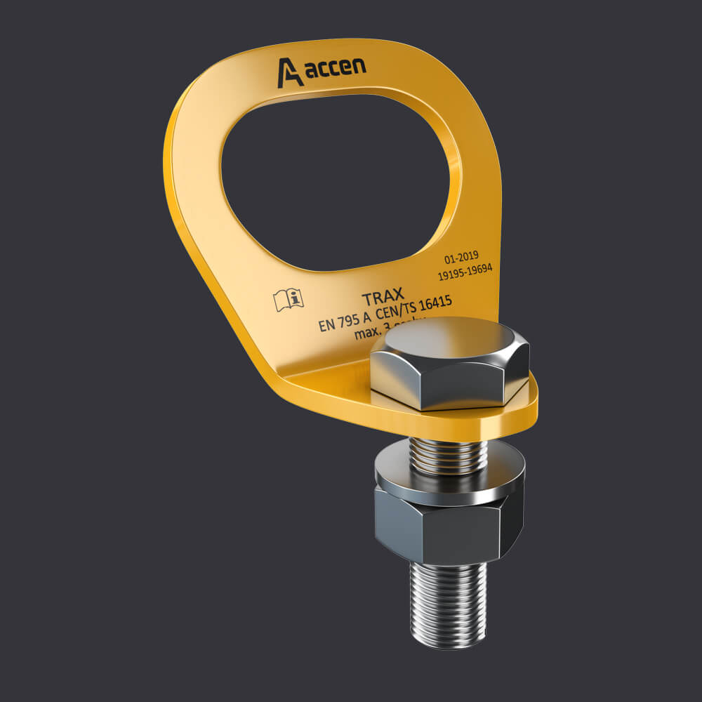 Systém individuální ochrany Trax Light ST-kotevní body k ocelovým konstrukcím