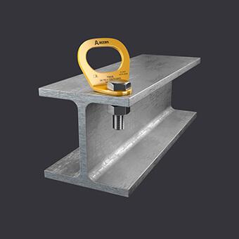 Kotevní bod Trax Light ST-jistící systémy pro jednu osobu- připevnění k ocelovým konstrukcím