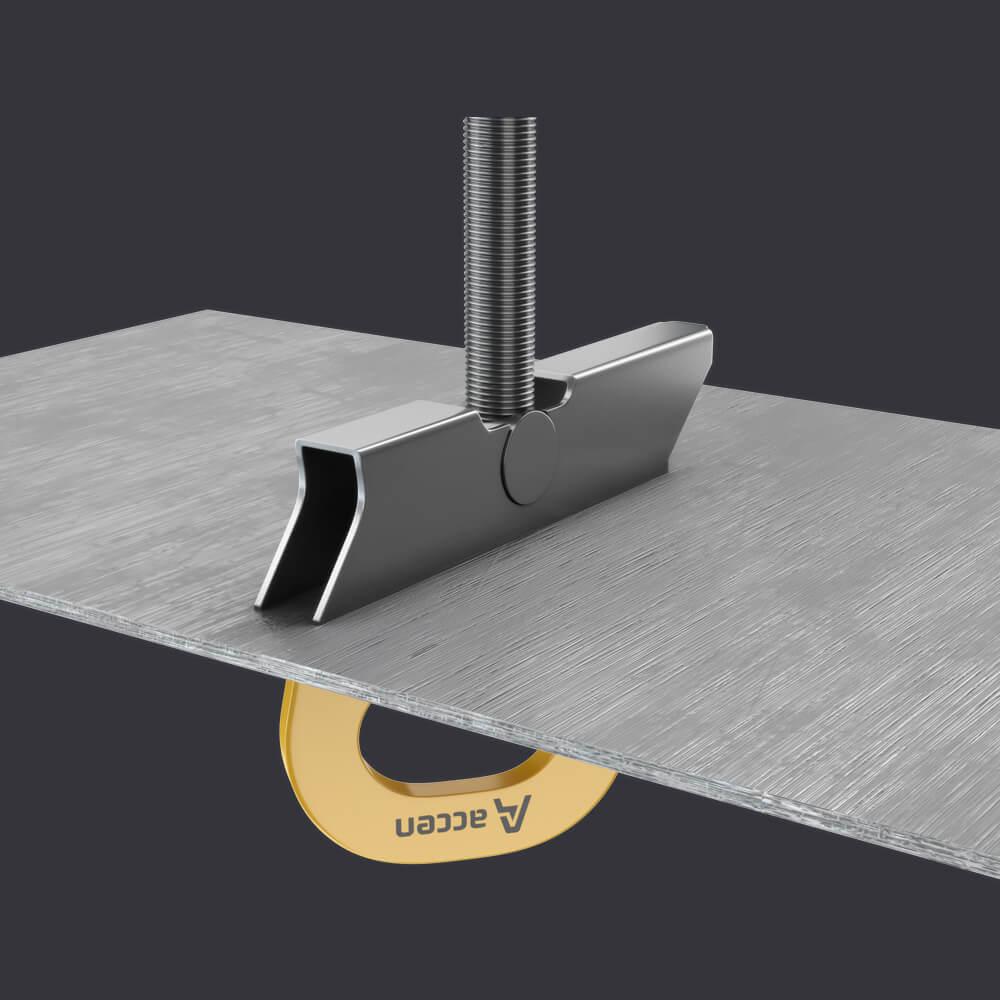 Accen- Kotevní bod TRAX LIGHT TR- jistící systémy na trapézovém plechu