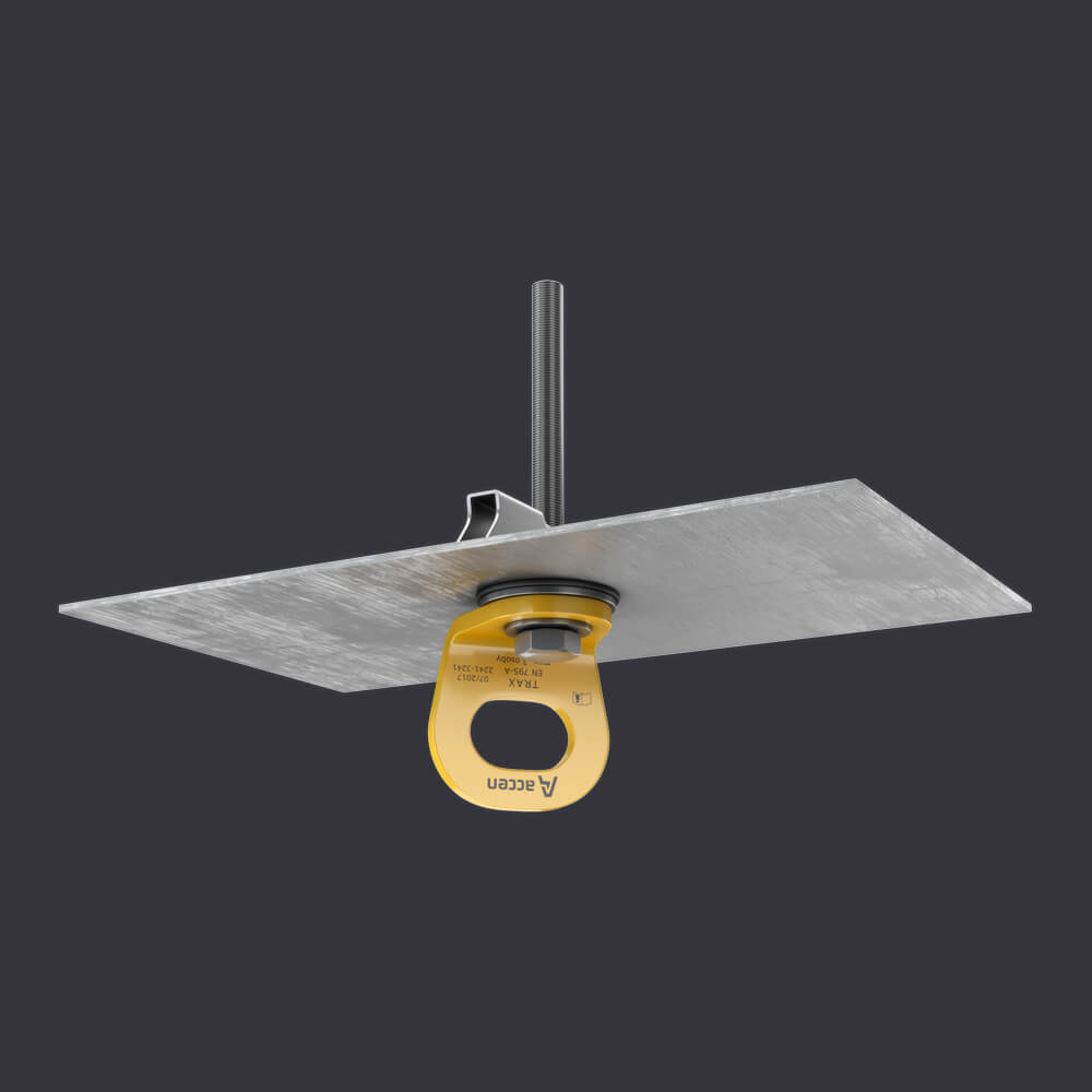 Accen TRAX LIGHT TR- kotevní bod pro jednu osobu - montáž na trapézovém plechu