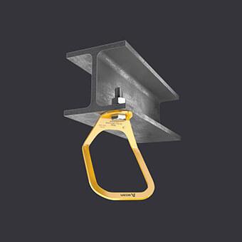 Kotevní bod Trax Light XL-velký připojovací bod- připevnění k železobetonovému a ocelovému základu