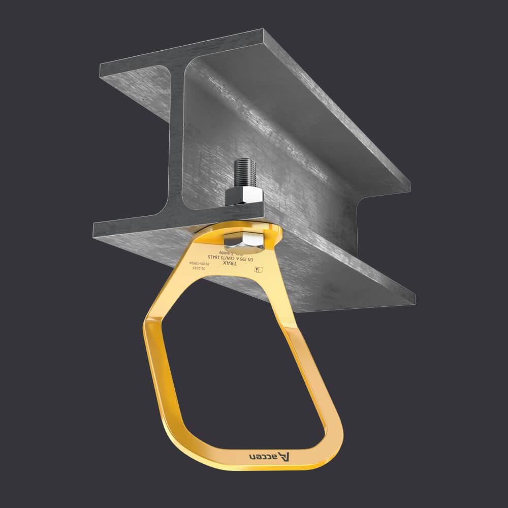 Accen Trax Light XL- Kotevní bod-připevnění k železobetonovému a ocelovému základu