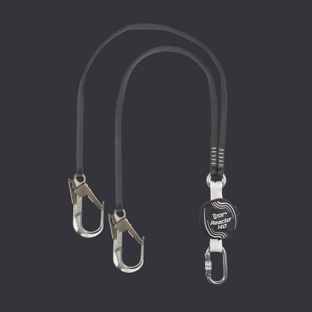 Zabezpečovací lano Reactor 140 XL- systém osobní ochrany Accen