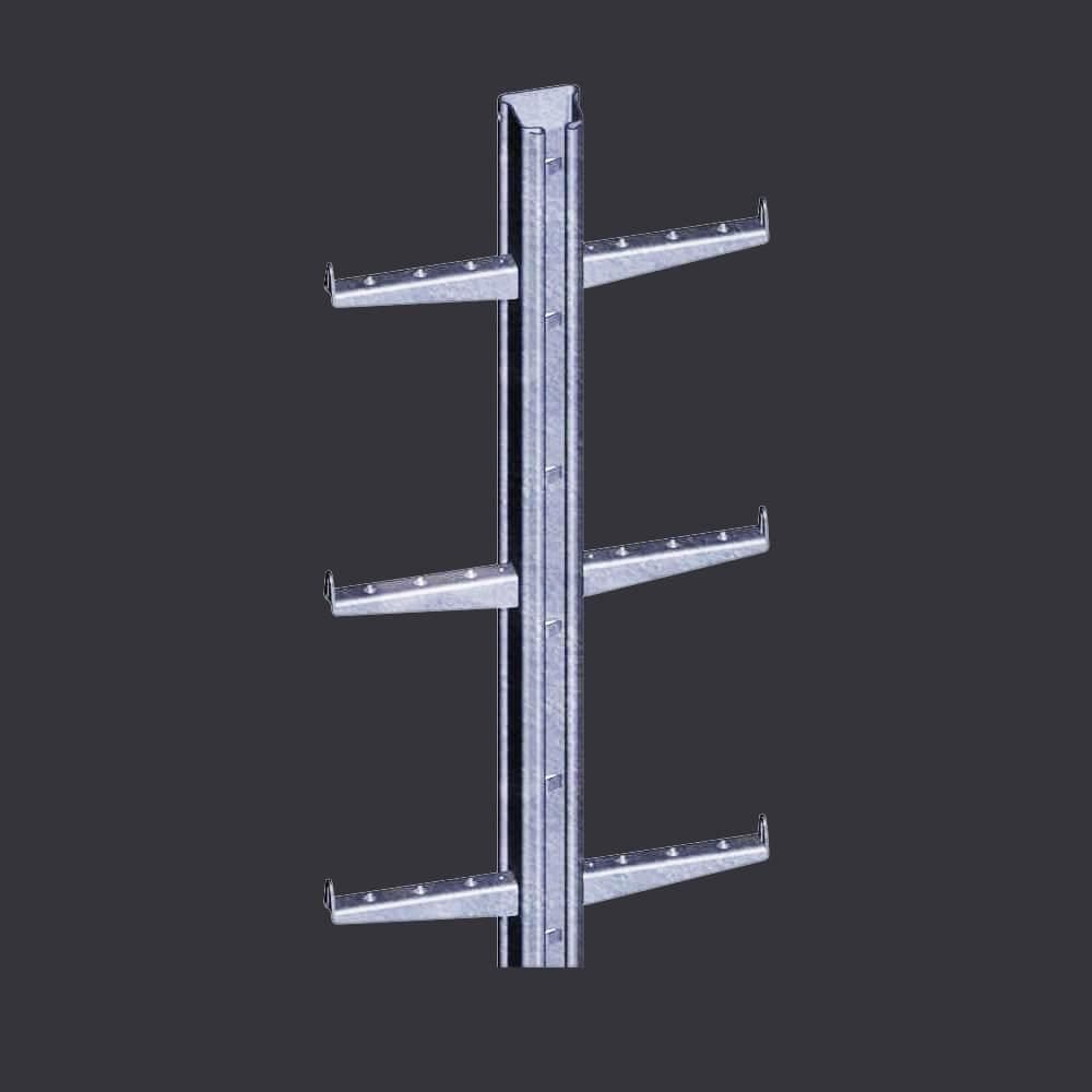 Accen Vertic Rail- žebřík s kolejnicovým vedením- vertikální jistící systém pro žebříky a vertikální komunikační tahy