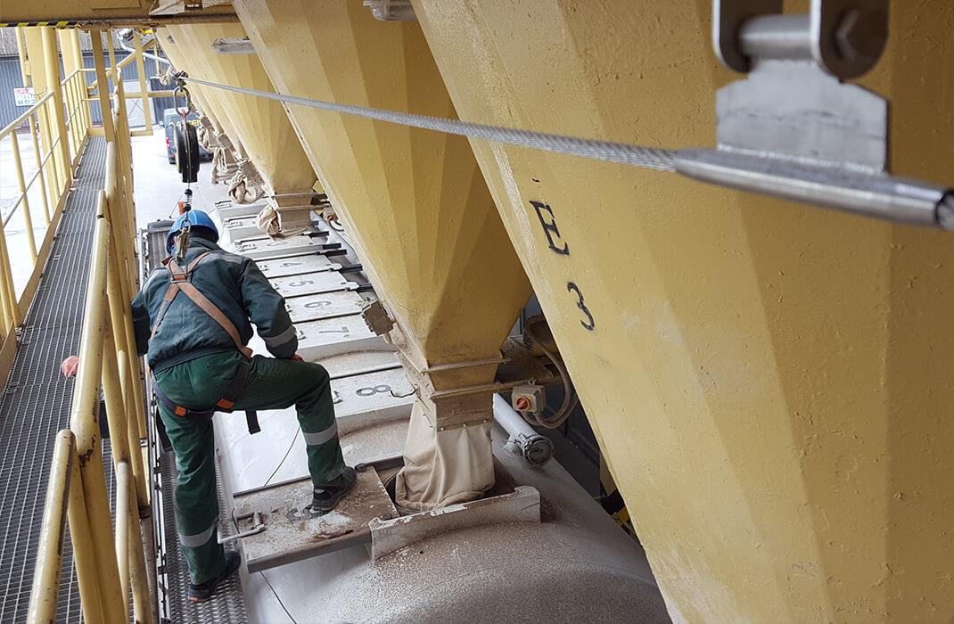 Cementářský a vápenický průmysl - Jistící systémy - Accen- realizace-3