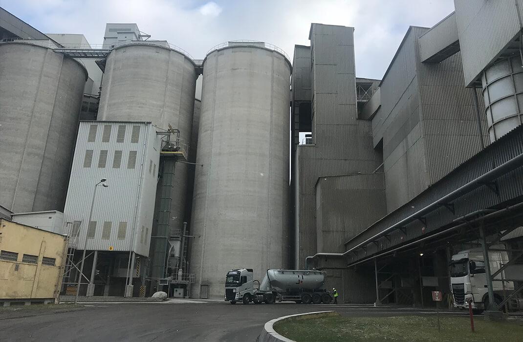 Cementářský a vápenický průmysl - Jistící systémy - Accen- realizace-1