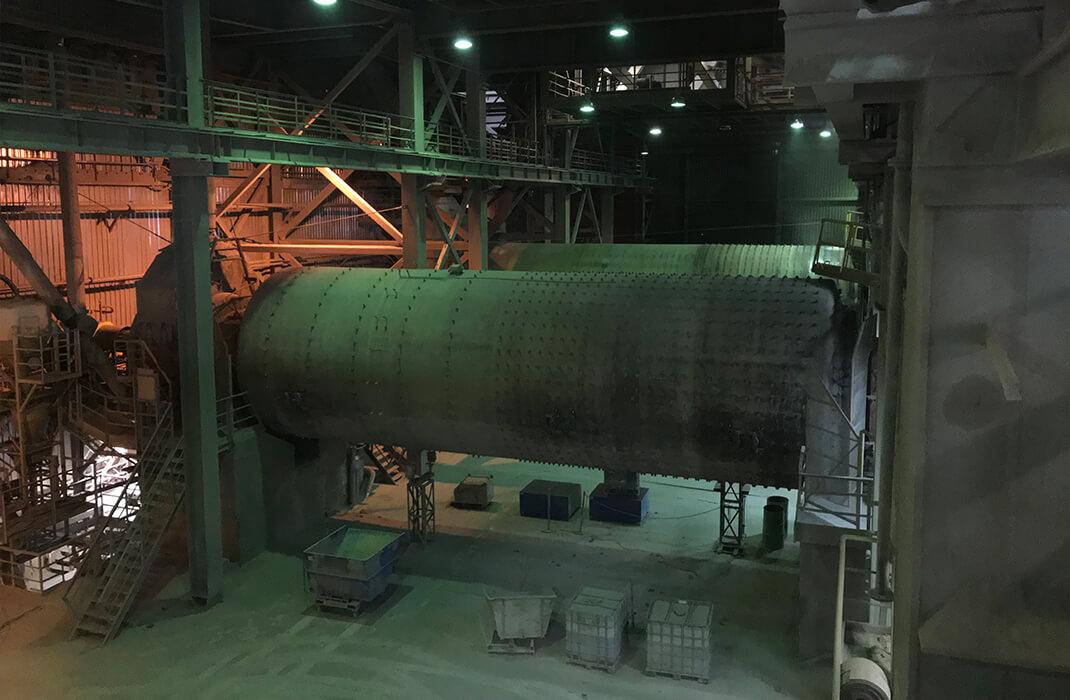 Cementářský a vápenický průmysl - Jistící systémy - Accen- realizace