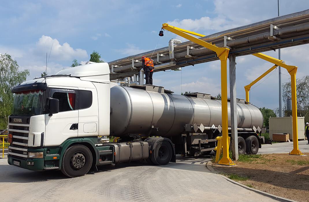 Petrochemický průmysl - Jistící systémy - Accen- realizace -2