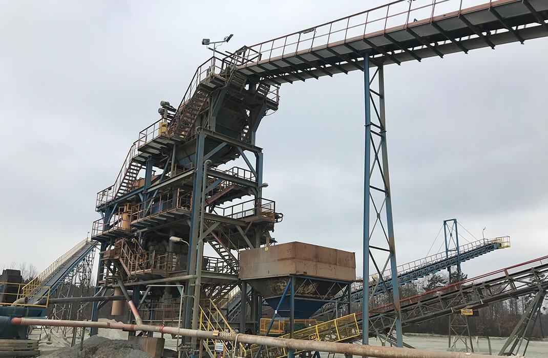 Těžební průmysl - Jistící systémy - Accen- realizace-2
