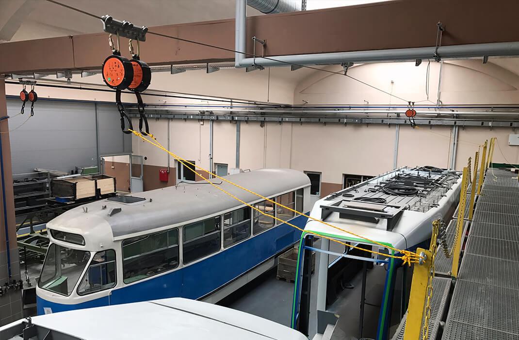 Veřejná doprava - Jistící systémy - Accen- realizace -1